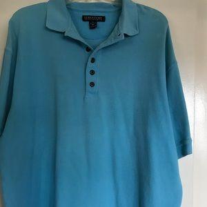 STRUCTURE, MEN's ,XL size ,100% COTTON BLUE TOP